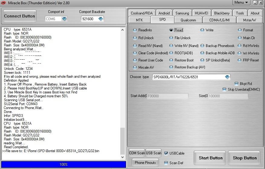 Bontel 8000+ Flash File
