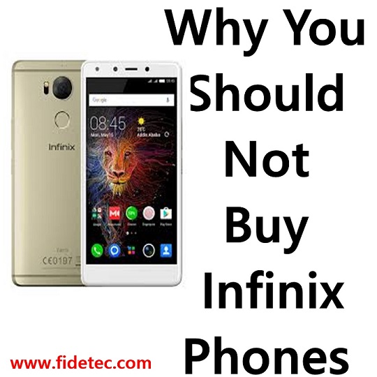 why you should not buy infinix