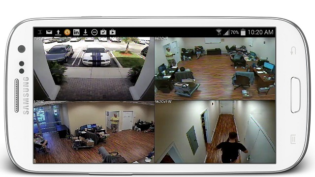 Mobile Phone As CCTV