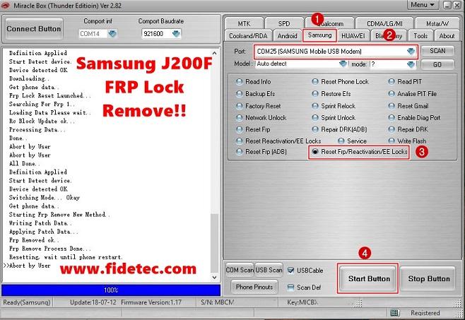 Samsung J200F FRP