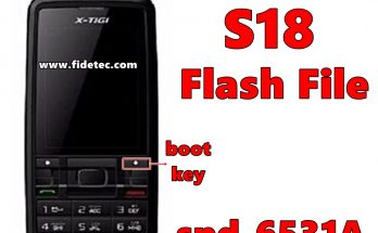 x-tigi s18 flash file
