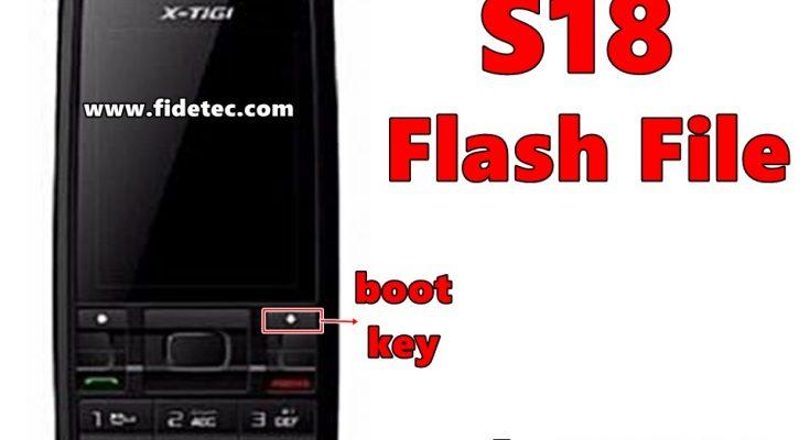 x-tigi s18 flash file