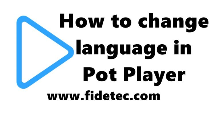 pot player language