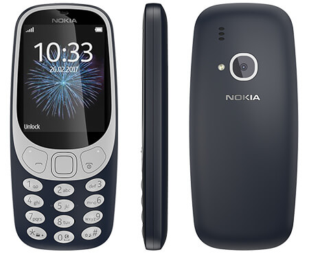 Nokia 3310 Security Code