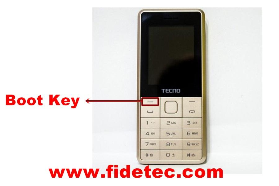 Tecno T465 boot key