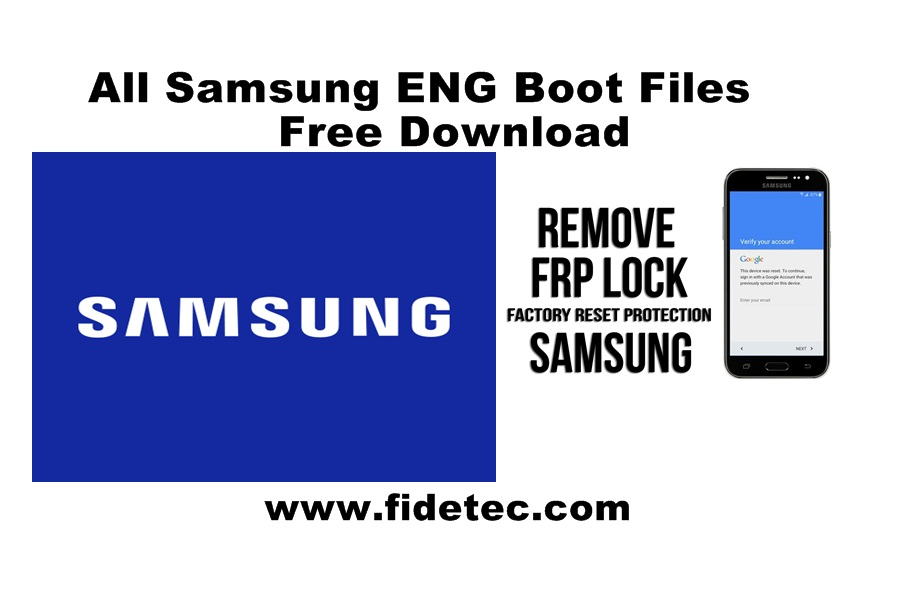 Samsung ENG Boot file