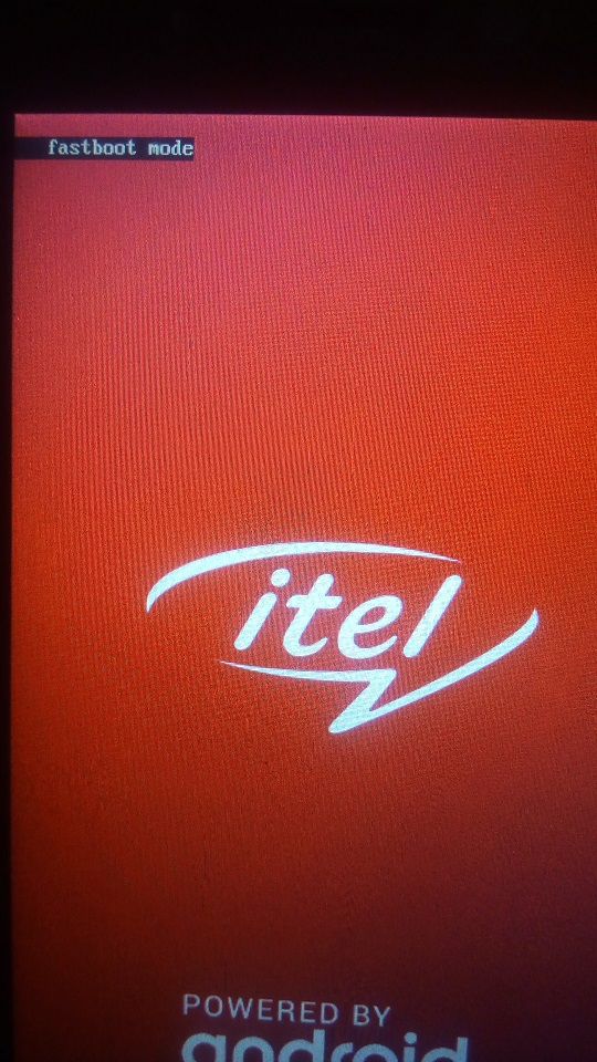 itel a16 fastboot