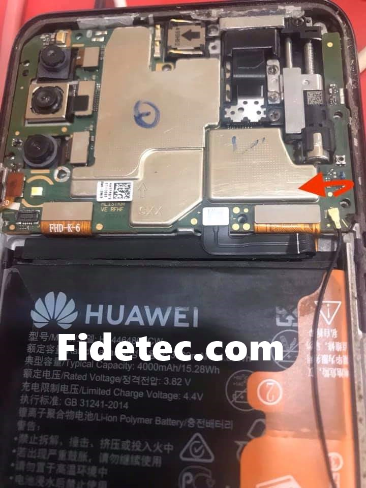 Huawei STK-L21 Test Point