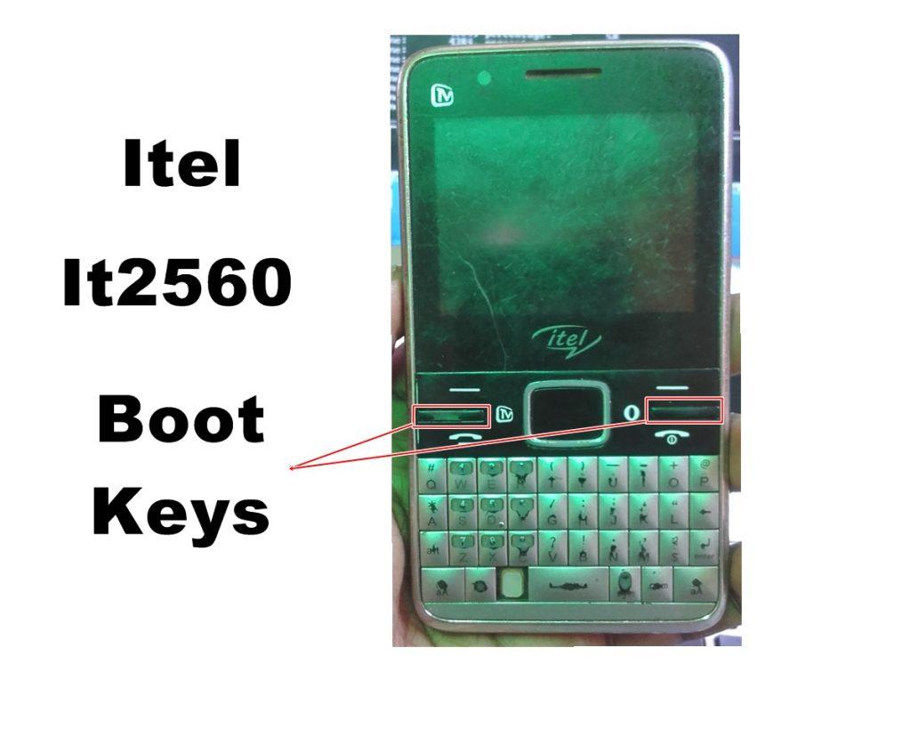 Itel It2560 Boot Key
