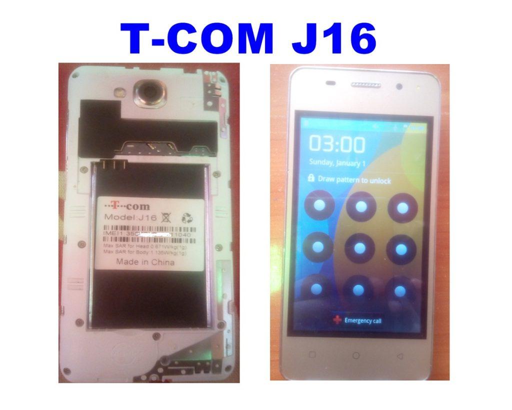 T-COM J16 Pattern