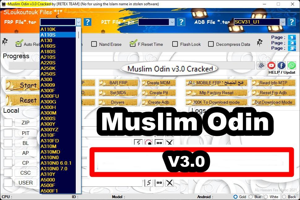 MUSLIM ODIN V3.0